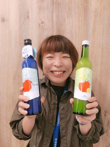 2019年8月度TG賞紹介、副賞は桃川株式会社の「雪りんご」