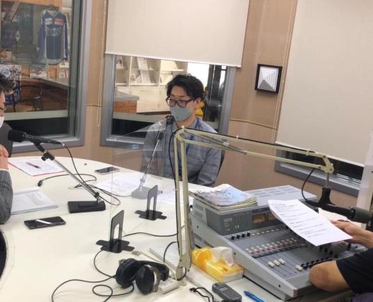 八戸のラジオ「ゆうらじ!Hachinohe」に出演します
