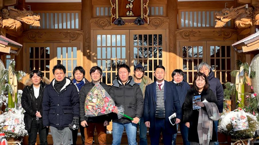 2021年 謹賀新年 八戸市の蕪島神社に参拝しました